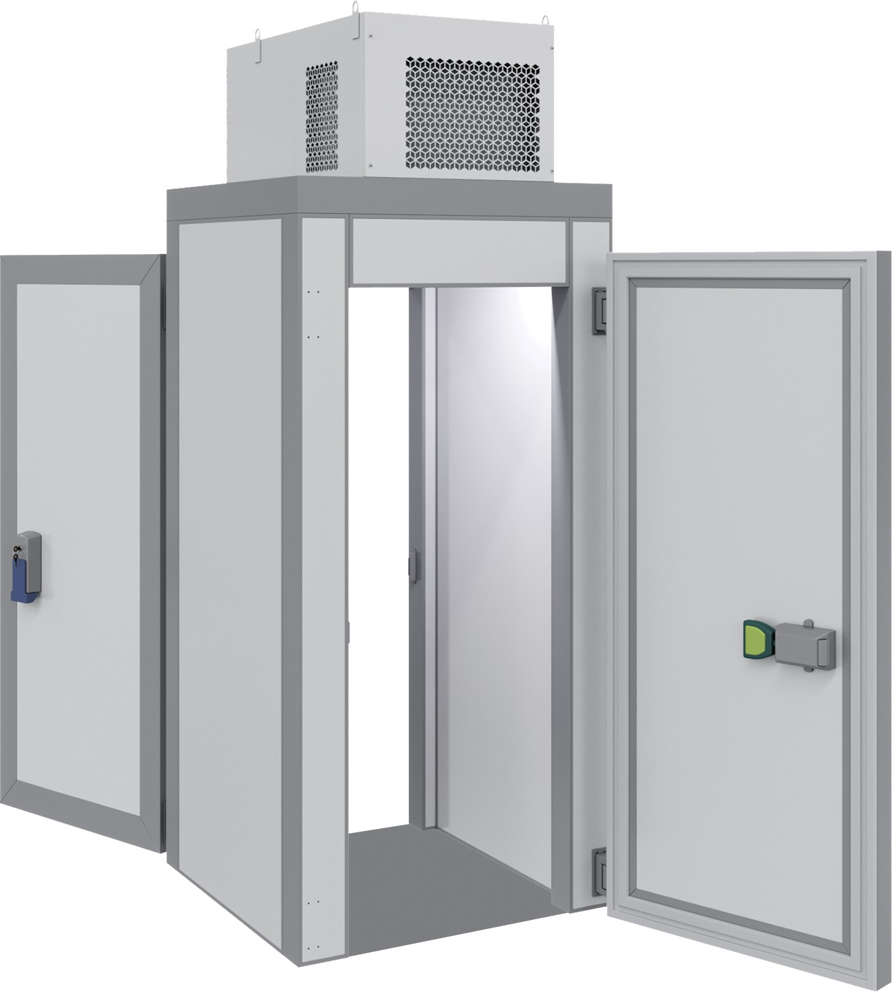 Холодильная миникамера Полаир КХН-1,28 Minicella ММ 2 двери