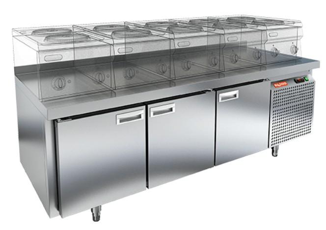 Стол холодильный HiCold GN 111/TN LT