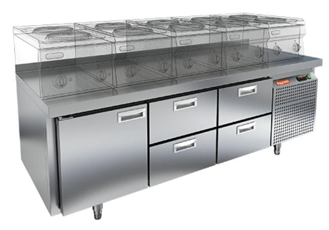Стол холодильный HiCold GN 122/TN LT