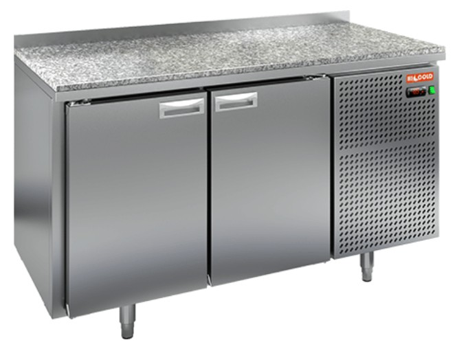 Стол холодильный HiCold GN 11/TN камень