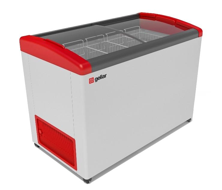 Ларь морозильный Фростор FG 475 E красный