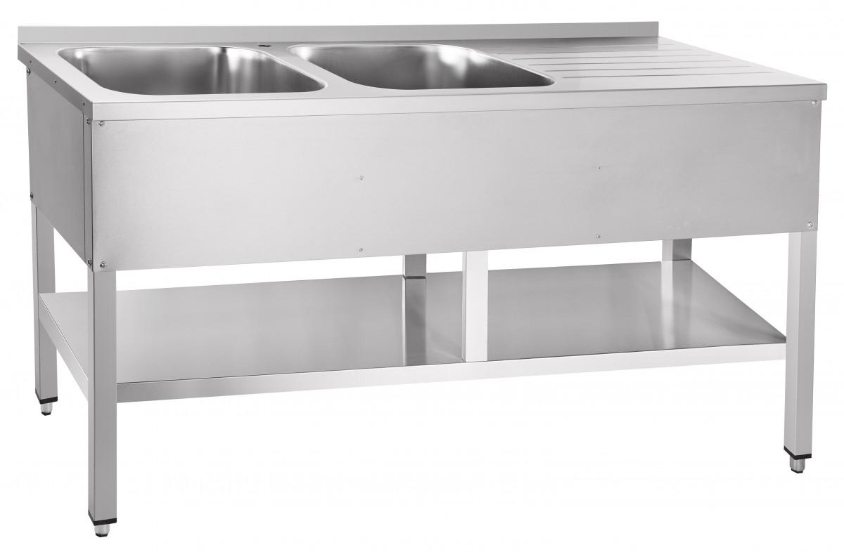 Стол для обработки овощей Abat СМО-6-7 РН (вся нерж.)