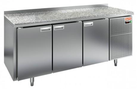 Стол холодильный HiCold GN 111/TN камень