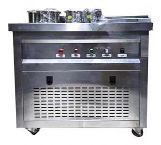 Фризер для жареного мороженого Foodatlas KCB-1Y (контейнеры, световой короб)
