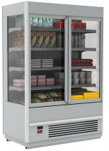 Горка холодильная Полюс FC20-07 VV 1,9-1 (распашные двери стекл фронт)