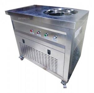 Фризер для жареного мороженого Foodatlas KCB-1Y (контейнеры, стол для топпингов)