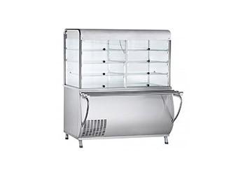 Витрины холодильные для линии раздачи