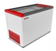 Ларь морозильный Фростор GELLAR FG 400 C красный
