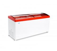 Ларь морозильный СНЕЖ МЛГ-700 (красный)