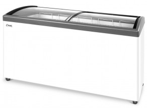 Ларь морозильный СНЕЖ МЛГ-500 (серый)