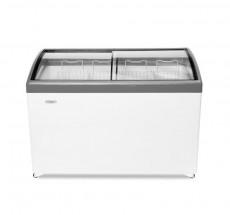 Ларь морозильный СНЕЖ МЛГ-400 (серый)