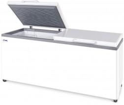 Ларь морозильный СНЕЖ МЛК-800 (серый)