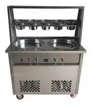 Фризер для жареного мороженого Foodatlas KCB-2Y (контейнеры, стол для топпингов, система контроля температуры)