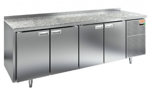 Стол холодильный HiCold GN 1111/TN камень