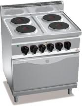 Плита электрическая BERTO`S E7P4+FE