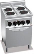Плита электрическая BERTO`S E6P4+FE1