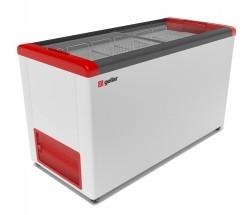 Ларь морозильный Фростор GELLAR FG 500 C красный