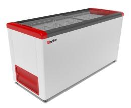 Ларь морозильный Фростор GELLAR FG 600 C красный
