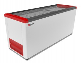 Ларь морозильный Фростор GELLAR FG 700 C красный