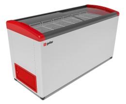 Ларь морозильный Фростор FG 675 E красный