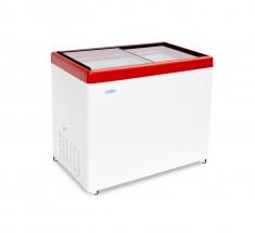 Ларь морозильный СНЕЖ МЛП 350 (красный) с замком