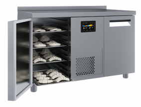 Стол холодильный  Полюс T70 M2-1 EN-HHC (5) 0430-2 с бортом, 2 двери