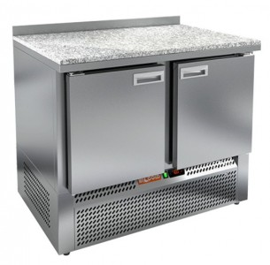 Стол холодильный HiCold GNE 11/TN камень