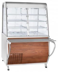 Прилавок-витрина холодильный Abat ПВВ(Н)-70Т-С-НШ