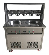 Фризер для жареного мороженого Foodatlas KCB-2Y (контейнеры, световой короб)