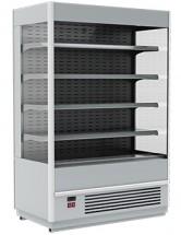 Горка холодильная Полюс FC20-07 VM 1,3-2 (Carboma Cube 1930/710 ВХСп-1,3) 9006-9005