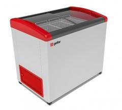 Ларь морозильный Фростор FG 375 E красный