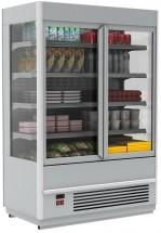 Горка холодильная Полюс FC20-07 VV 1,3-1 (распашные двери стекл фронт)