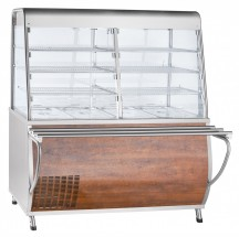 Прилавок-витрина холодильный Abat ПВВ(Н)-70Т-С-01-НШ