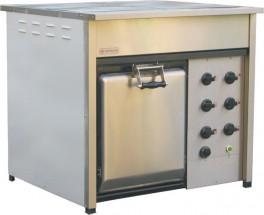 Плита электрическая Термаль ПЭЖ-4 с жарочным шкафом