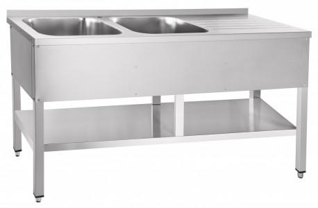 Стол для обработки овощей Abat СМО-7-7 РН (вся нерж.)