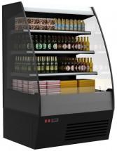 Горка холодильная Полюс F16-08 VM 1,0-2 0020 стеклопакет (Carboma 1600/875 ВХСп-1,0) 9006