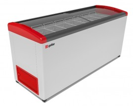 Ларь морозильный Фростор FG 700 E красный