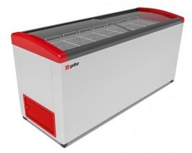 Ларь морозильный Фростор FG 775 E красный