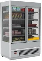 Горка холодильная Полюс FC20-07 VV 1,0-1 (распашные двери стекл фронт)