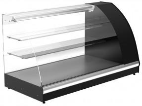 Витрина среднетемпературная Полюс А57 VM 1,2-1 0011-9006 (ВХС-1,2 Арго XL) серый