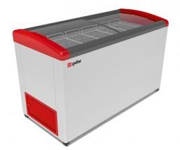 Ларь морозильный Фростор GELLAR FG 500 E красный