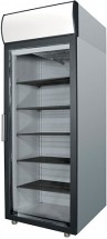 Шкаф среднетемпературный Полаир DM 105-G   (ШХ 0,5 ДС нерж)