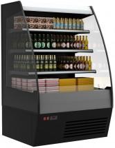 Горка холодильная Полюс F16-08 VM 1,3-2 0020 стеклопакет (Carboma 1600/875 ВХСп-1,3) 9005