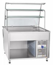 Прилавок-витрина холодильный Abat ПВВ(Н)-70Т-НШ