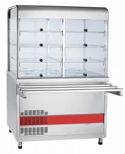 Прилавок-витрина холодильный Abat АСТА(М) ПВВ(Н)-70 КМ-С-02-НШ