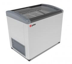 Ларь морозильный Фростор FG 375 E серый