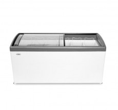 Ларь морозильный СНЕЖ МЛГ-600 (серый)